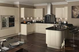 plain kitchen design cream luxury intended inspiration