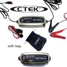 ctek multi mxs 5 0 12v car battery smart trickle charger u0026 free