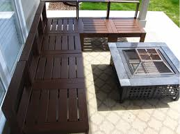 Building Outdoor Wood Furniture by Ana White Outdoor Sectional Diy Projects