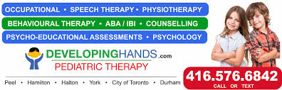 Career Opportunities   Developing Hands Pediatric Therapy Services     Pediatric occupational  speech and behavioural therapy  physiotherapy  psychology  counselling in Mississauga