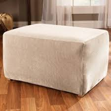 fabric covered ottomans foter