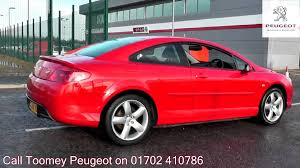 sale peugeot 2008 peugeot 407 coupe bellagio 2l flamenco red gj58xuw for sale