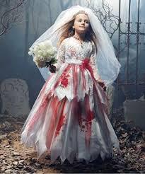 Bride Halloween Costume Ideas Childs Girls Halloween Zombie Bride Dress Costume Zombiebrideuk