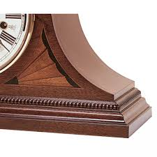clockway howard miller triple chiming key wound mantel clock