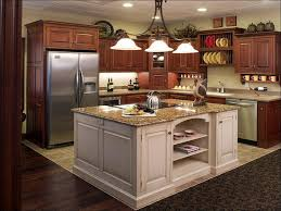kitchen kitchen island with storage and seating granite top