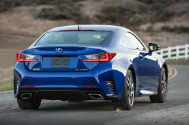 lexus f sport price 2016 lexus rc coupe adds turbo four 200t v 6 300 awd models