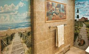 Lighthouse Bathroom Decor by 25 Wonderful Ideas And Pictures Ceramic Tile Murals For Bathroom