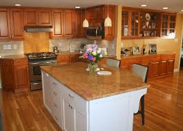 traditional maple kitchen with white island traditional kitchens