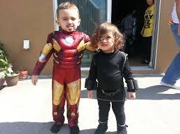 Black Widow Halloween Costume Ideas Ironman Black Widow Costume Idea Toddlers Fiesta Ideas