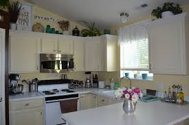 Top Of Kitchen Cabinet Decor Ideas Top Of Kitchen Cabinet Decor Kitchen