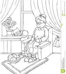 grandma stock images image 14961434