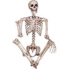 halloween skeletons decorations skeleton poseable halloween decoration walmart com