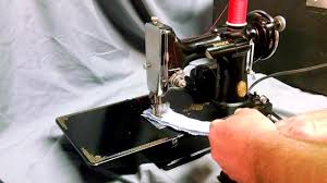 serviced rewired vintage 1935 singer 221 1 featherweight sewing