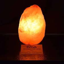 Himalayan Salt Light by Himalayan Salt Lamp Large Iviva