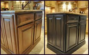 painted kitchen cabinets before and after photos