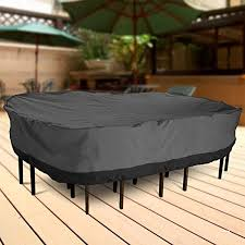 Outdoor Covers For Patio Furniture Amazon Com Neh Outdoor Patio Furniture Table And Chairs Cover