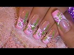 easy one stroke butterfly nail art video clip videos agaclip