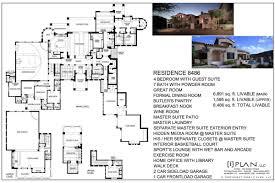 Duggar Home Floor Plan by Floor Plans 7 501 Sq Ft To 10 000 Sq Ft