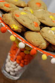 Nut Free Halloween Treats by M U0026m U0027s Candy Corn White Chocolate Macadamia Nut Cookies