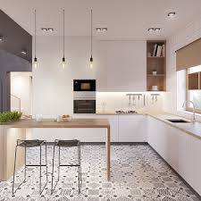 Kitchen Floor Tile Ideas With White Cabinets Scandinavian Kitchens Ideas U0026 Inspiration