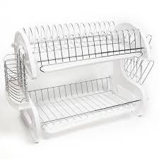 Sweet Home Collection Home Basics  Piece  Tier Kitchen Sink Dish - Kitchen sink dish rack