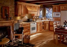 cool rustic italian kitchen decor ideas with wooden cabinet and