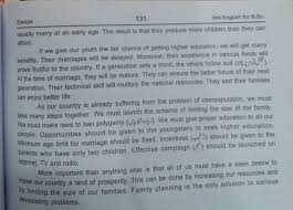 Population Explosion or Family Planning Brief Essay in English For     Honey Notes