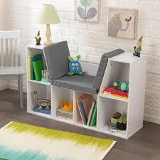 furniture antique white bookcase ladder corner shelf white