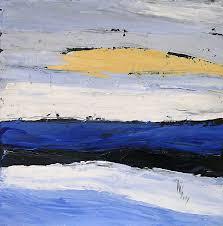 peinture de bord de mer peinture acrylique mer et voiles
