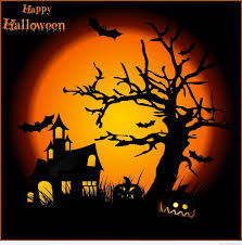 halloween background of wich happy halloween greetings cards and messages