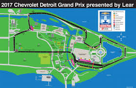 Detroit Michigan Map by Chevrolet Detroit Grand Prix Presented By Lear June 1 3 2018