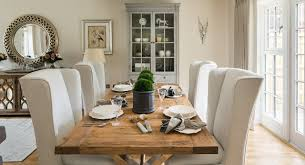 Luxury Country Style Family Home Farmhouse Dining Room - Family dining room