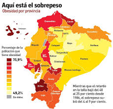 Latam Map Ecuador Takes Measures To Attack Obesity Rates Latin America