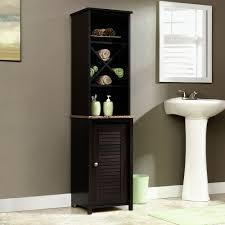 bathroom linen cabinet white freestanding linen tower