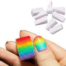 nail art sponge wedges make up sponge wedges