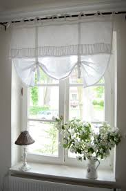 shabby chic kitchen curtains inspirations and bedroom window