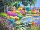 Bloggang.com : เอ็กซ์ซ่า : ธรรมชาติ.... สีสันสดใสกับภาพวาดสีน้ำมันสวยๆ