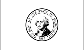 washington state flag coloring page washington state flag for kid