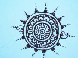henna design for hands circle 2 tutorial youtube