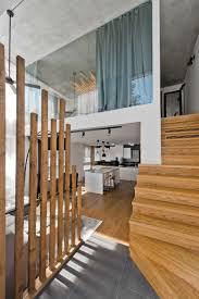 scandinavian modern loft interior by inarch