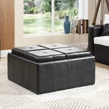 Large Storage Ottoman Coffee Table by Hodedah Large Storage Ottoman U0026 Reviews Wayfair
