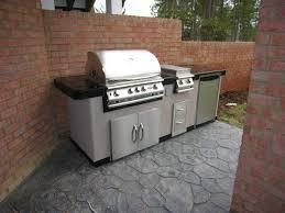 Diy Outdoor Kitchen Ideas Outdoor Kitchen Set Zamp Co