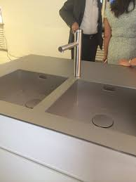Blancoamerica Com Kitchen Sinks by Blanco Durinox Sink With The Linee Faucet And Capflow Drain Cover
