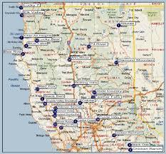 California Maps Northern California Map California Map