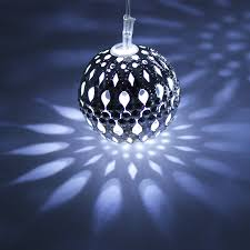 Blue Led String Lights by Hollow Ball Led Christmas Lights Torchstar