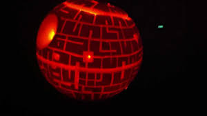 star wars pumpkin the death star 2012 youtube