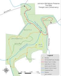new hope creek trails and mills triangle land conservancy