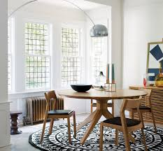cross round table round dining table solid wood and tabletop