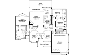 Ranch House Plan by Ranch House Plans Rainier 10 303 Associated Designs