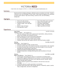 Example of a Good Resume Sample   Best Online Resume
